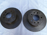 Two front discs for a vw type 2 1973-79. Unused.