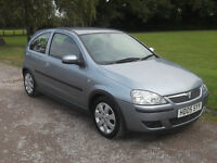 2005 VAIXHALL CORSA 1.2 SXI, MOT AUGUST 2017, ONLY 61,000 MILES, NO ADVISORIES ON MOT, 1 OWNER!!!