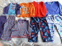 Bundle of Clothes Pyjamas Nearly New Boy 2-3 years