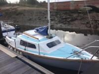 Sailing boat 17ft Pirate Proctor