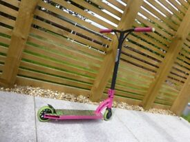 Purple and Green Kids Scooter