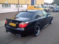 BMW 525 DIESEL .FULLY LOADED. FULL M5 REPLICA . THOUSANDS SPENT ON IT . SUPERB DRIVE . 1 YEAR MOT