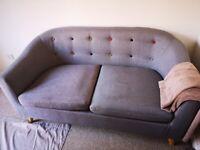 Two seat cloth sofa