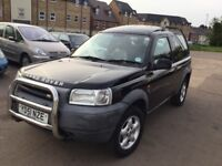 Automatic Land Rover Freelander Td4-10 months mot,leather interior,good runner,ac,stereo,remote key