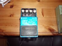 BOSS & IBANEZ GUITAR/VOCAL EFFECTS PEDALS