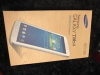 Samsung galaxy tab 3 white box only