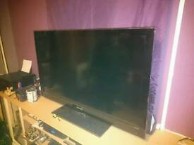 "Spares or Repairs 46"" Samsung LCD TV"