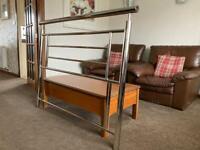Chrome Double Bed Headboard