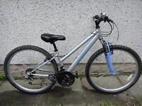Apollo XC 26 bike, 26 inch wheels, 18 gears, 14 inch frame, front suspension