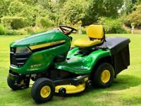 "John Deere X350R Ride On Mower - 42"" Deck - Lawnmower - NEW - Mulch plug - countax/Kubota"