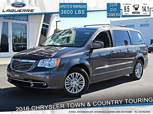 2016 Chrysler Town & Country **TOURING-L*CUIR*DVD*CAMERA*CRUISE*