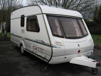 Abbey Vogue 215 GTS Caravan, 2001
