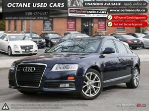 2009 Audi A6 3.0 Premium REAR VIEW CAMERA.LEATHER.SUNROOF.ALLOY