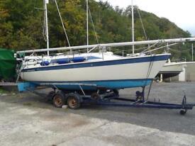 Dehler 25 trailer sailor 1987