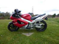 Yzf1000 thunderace race red