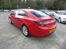 Vauxhall Insignia SRI NAV S/S (red) 2016-03-18