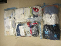 BABY CLOTHES BUNDLE. A range of clothes form 0-6months.