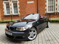 Bmw 1 Series 120D M Sport Automatic Diesel Convertible Lady Owner Low Millage