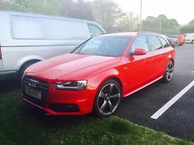 Audi A4 Avant S Line Black Edition