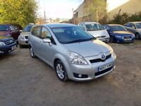 TOYOTA COROLLA VERSO 1.8 VVT-i SR 5dr **CHOICE OF 2*ONE PREVIOUS OWNER*FULL SERVICE HISTORY*7 SEATS*