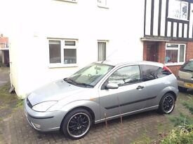 ford focus 1.6 (heated leather seats)