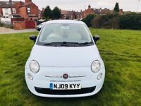 FIAT 500 1 Owner FULL SERVICE HISTORY MOT 11 Month & £30 Road Tax for 12 Month