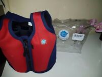 splash about kids float jacket 3-6 years old excellent condition