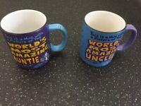 MUGS & VINTAGE TEA CUPS SET