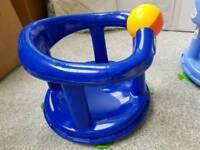 Swivel bath seat - royal blue