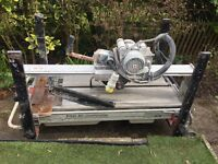 Raimondi Pikus Professional Tile Cutter Bridge saw bench. 110Volt.