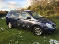 EXCELLENT 7 SEATER 2008 KIA SEDONA AUTO DIESEL - LONG MOT & FULL SERVICE HISTORY