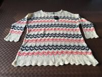 Size 14 Next fine knit jumper/top - never worn with labels