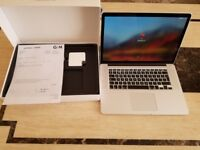 Apple MacBook Pro 15 Retina A1398 Quad Core i7 16GB 512GB 2GB Graph OFFICE 2016