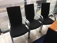 Meeting room chairs set of 6