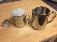 Andrew James Stainless Steel 3 Piece Coffee Making Set