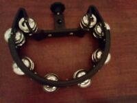 Tambourine for drum kit, only used twice