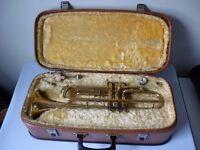 Vintage corton 80 trumpet with case