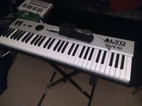 Alto Professional Live 61 Synthesizer (+ stand & sust pedal available)