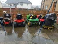 Ride on mowers breaking