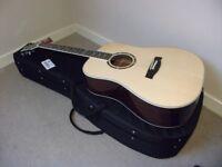 Hagstrom Siljan Dreadnought Acoustic Guitar