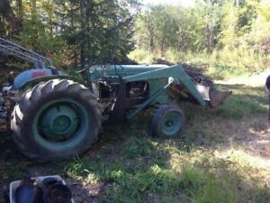 Tentatively sold - tractor 1959 Cockshot 540