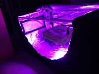 Grow tent & Led grow light + extras (free not included in price :) )