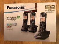 Digital Cordless Phone - 3 Handsets