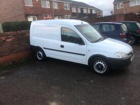 Vauxhall combo 1.3 van 86000 miles full service and 12 months mot