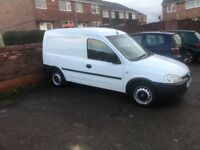 Vauxhall combo 1.3 van 86000 miles full service and 12 months mot