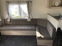 Corner sofa bed ( brand new)