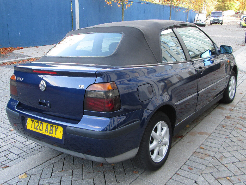 vw golf mk3 cabriolet 1999 t 1 6se cabrio classic in birmingham city centre west midlands. Black Bedroom Furniture Sets. Home Design Ideas