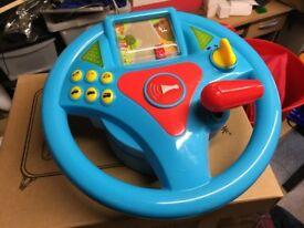 Interactive Steering Wheel Toy