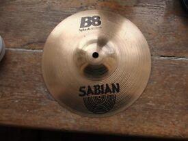 "Sabian B8 10"" Splash Cymbal - used / in good condition - £25 ONO"