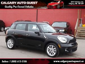 2014 MINI Cooper S Countryman ALL4/AUTO/LEATHER/PANO-ROOF